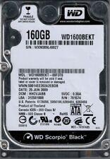 WD1600BEKT-00F3T0 DCM: HHCVJABB WXM30 Western Digital 160GB