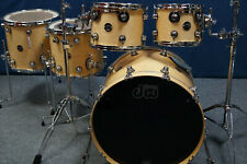 """DW Performance Shellset in """"Natural Maple High Gloss Lacquer"""" -22,10,12,14,16"""""""