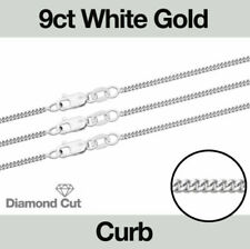 White Gold Fine Necklaces & Pendants without Stone