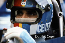 Francois Cevert Elf Tyrell French GP 1972 Photograph