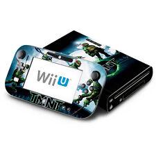 Skin Decal Cover for Nintendo Wii U & GamePad Teenage Mutant Ninja Turtles TMNT