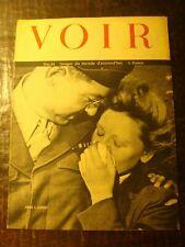 Revue photos - VOIR - Journal de Guerre - N° 34 - Adieu l'Europe !