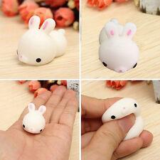 Cute Mochi Bunny Rabbit Squishy Squeeze Healing Stress Reliever Abreact Fun Toy