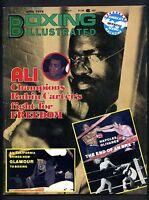 BOXING ILLUSTRATED MAGAZINE JUNE 1976 MUHAMMAD ALI-RUBIN CARTER