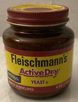 Fleischmann's Active Dry Yeast 4 oz Jar - equals 16 envelopes Exp:04/2022
