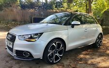 "2014 AUDI A1 1.6 TDI 105 CONTRAST EDITION SILVER & BLACK 18"" ALLOYS S-LINE SPEC"