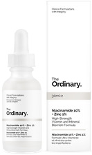 The Ordinary. Niacinamide 10% + Zinc 1%. Serum ANTIROJECES 30 ml