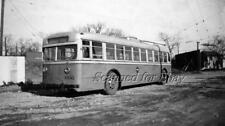 Old Bus Peoria Illinois Iowa Power Co #606 1940s ORIGINAL PHOTO
