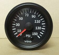 VDO 52mm 150 PSI MECHANICAL OIL OR AIR PRESSURE GAUGE