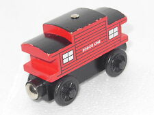 "THOMAS & FRIENDS WOODEN RAILWAY ""SODOR LINE CABOOSE "" GC"
