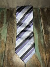 Hardy Amies Silk Tie - Made in Germany - Width 9.5cm - Excellent Condition