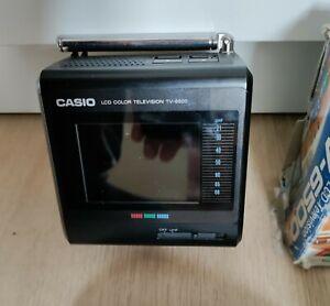 Casio TV-6500 Colour LCD Television Vintage