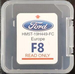 FORD F8 SAT NAV NAVIGATION SD CARD EUROPE MAPS