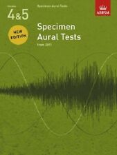 ABRSM Specimen Aural Tests Grades 4-5 (Book Only)