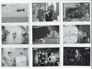 James Bond Archives 2014 Thunderball Throwback Set (1:6 packs) Card Selection