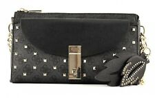 GUESS Cross Body Bag Nissana Crossbody Top Zip Coal
