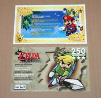 Nintendo GameCube The Legend of Zelda The Wind Waker Mario VIP Points Card Page