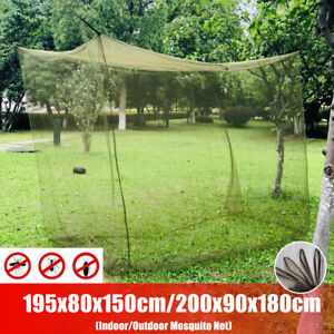 Mosquito Net Large Indoor Outdoor Camping Insect Netting Cover Canopy Fit Travel