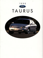 1996 Ford Taurus Full-Color Promotional Catalog Brochure in Very Good Condition
