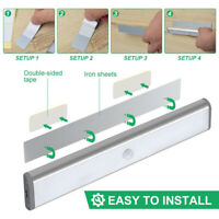 10/20 LED Under Cabinet Light Motion Sensor Closet Light Lamp