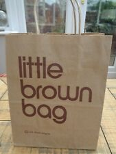 eab515faeb6 Bloomingdales Small Little Brown Bag Paper Carrier 8