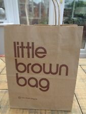 "Bloomingdales Small Little Brown Bag Paper Carrier  8"" x 10.25"" - 20 x 28cm"
