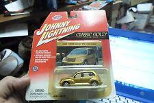 2001 CHRYSLER PT CRUISER CLASSIC GOLD  JOHNNY LIGHTNING 1/64 JL