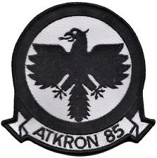 Attack Squadron 85 va-85 STATI UNITI BLU NAVY USN PATCH RICAMATO