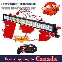 32 inch 180W LED Light Bar Driving Fog Off Road Truck Ford Jeep SUV ATV 4WD 30