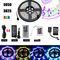 5M Flexible RGB Led Strip 3528 5050 SMD 300 Leds String Light White lamp DC12V