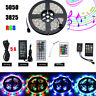 5M SMD RGB 5050 3528300 LEDs Waterproof Strip Light +MUSIC CONTROL+POWER
