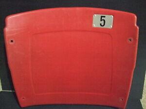 Busch Stadium seat back #5 Albert Pujols St Louis Cardinals