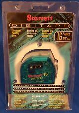 STARRETT DIGITAPE ELECTRONIC TAPE MEASURE 16'