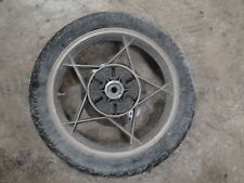 81 1981 SUZUKI GS750 GS 750 MOTORCYCLE BODY REAR BACK WHEEL TIRE 110/90-18