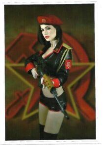 Sticker Decal Hot Russian Gun Girl - Laptop, Notebook