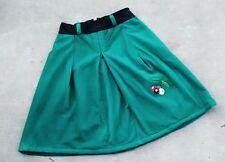Emerald Green Midi Skirt Size 8-  Downtown City, 1995