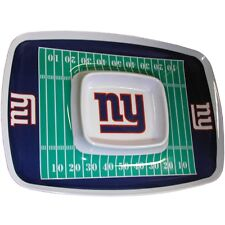 Ny New York Géants NFL Puce & Goutte Plateau, sous Licence Officielle, Talonnage