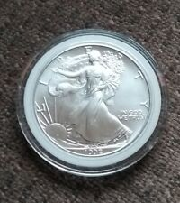 5-2019 American Silver Eagle Dollar Walking Liberty 1 Troy oz  BU Upper Grade