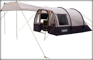CMARTE Large Tunnel Multifunction Camping Tent PH11809 for 4 People #9451