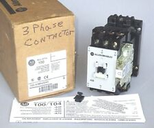 Allen-Bradley 100-A38NZ243 Contactor 24VDC Coil, 38 FLA, 25HP, 80A Res, N.O. Aux