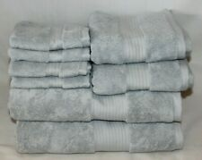 Ralph Lauren Bowery Eight Piece Bathroom Towel Set Whstlr Blu New
