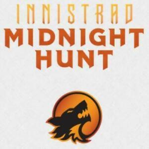 *MtG: COMPLETE LAND SET INNISTRAD: MIDNIGHT HUNT - all 10 Full Art Basic Lands*