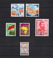Africa - Afrique - Rep. Congo 1975-1976 Yvert 6 stamps MNH diff. topics c9.05Eu