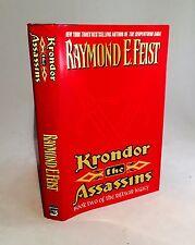 Krondor:The Assassins-Raymond E. Feist-SIGNED!!-TRUE First Edition/1st Printing
