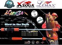 "XZOGA LEMAX ""ILUNGA"" Slow Pitch Jigging Fishing Rod Boat Conventional Version"