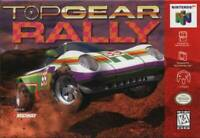 Top Gear Rally Nintendo 64 N64 Game Used