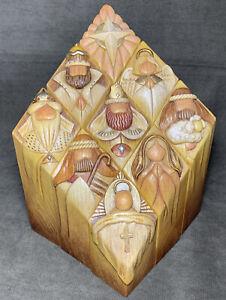 Pillar Of Heaven Nativity Enesco Artist Gallery Series By Kim Lawrence Christmas