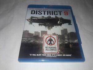 district 9 blu ray movie thriller action sci fi alien neill blomkamp film disc 2