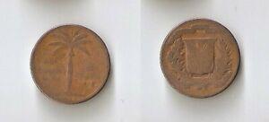 Dominican Republic 1 centavo 1952