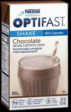 OPTIFAST® READY-TO-DRINK SHAKES | CHOCOLATE | 1 CASE | 27 SHAKES | NEW & FRESH